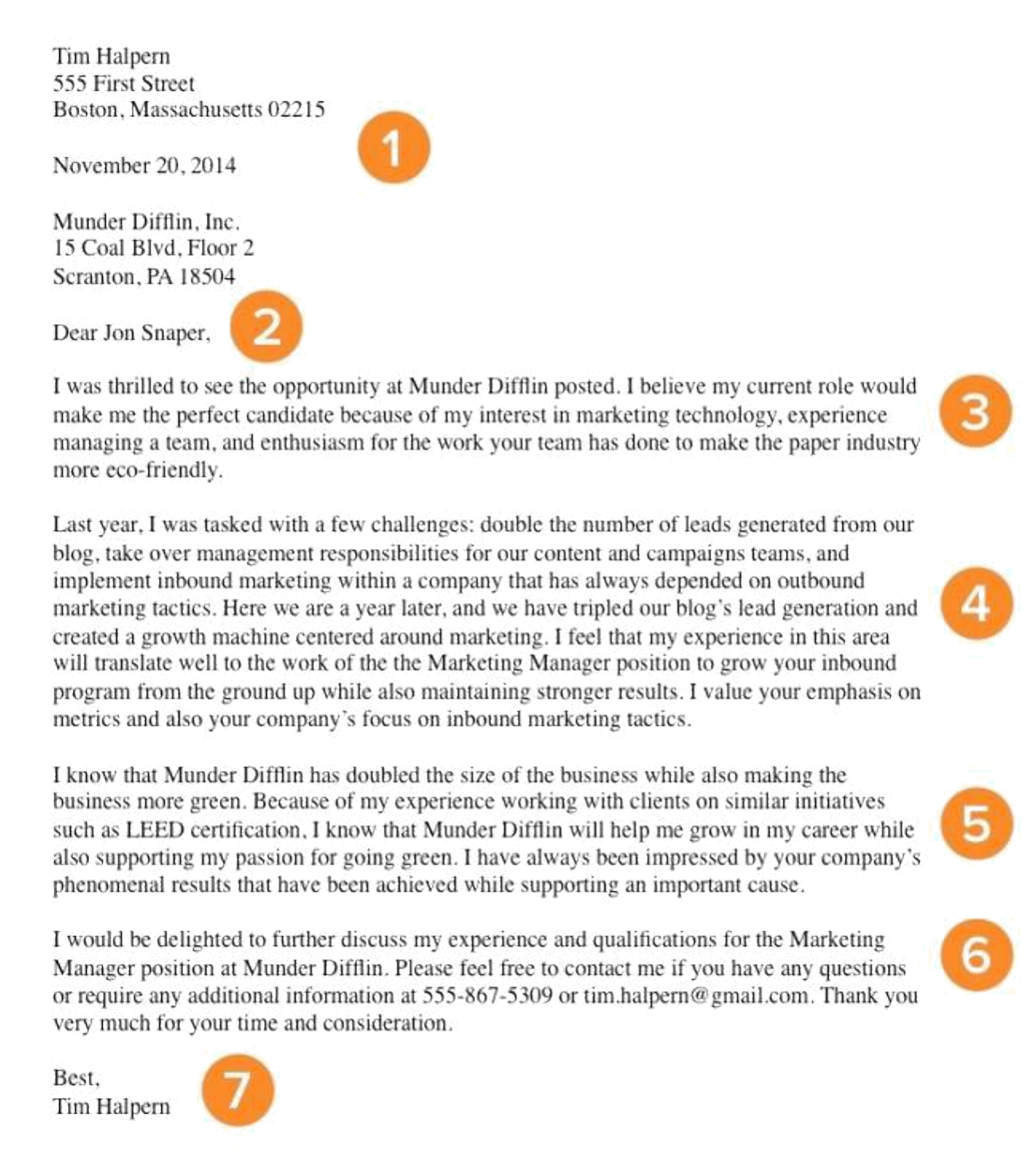 Associate Marketing Manager Cover Letter Samples and Templates