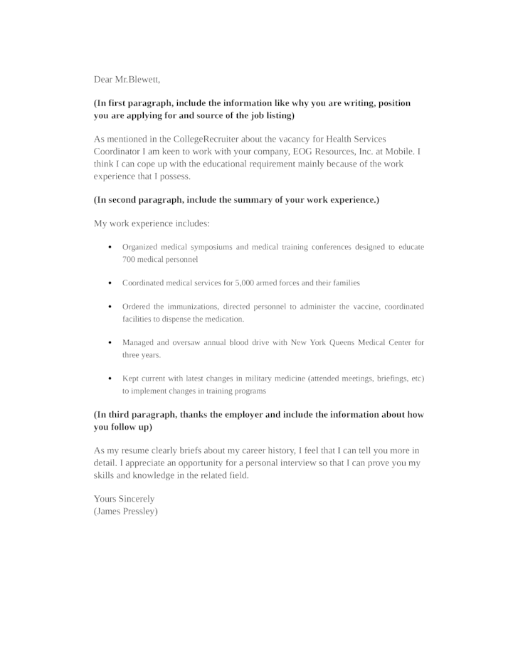 cover letter csu coordinator of marketing and communications. safety ...