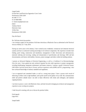 Basic Industrial Electrician Cover Letter
