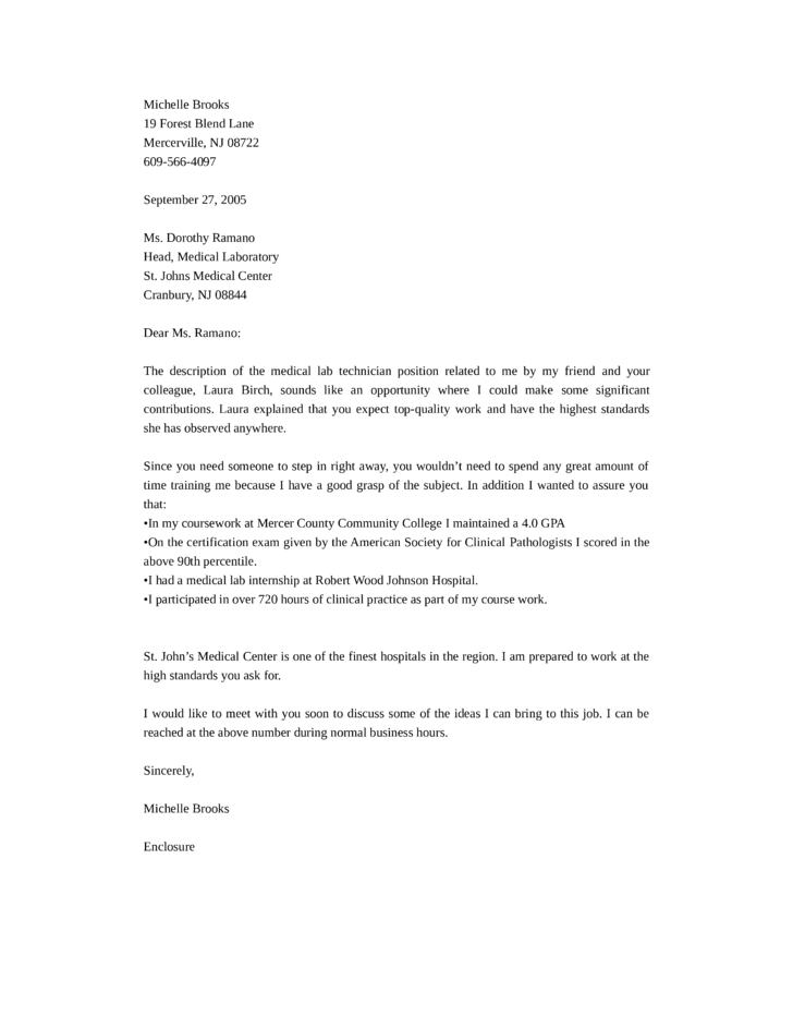 good cover letter lab technician Cover letter chemical lab technician best ideas about on a gallery of cover letter research assistant professor sample for resume lab let them all of letters gives.