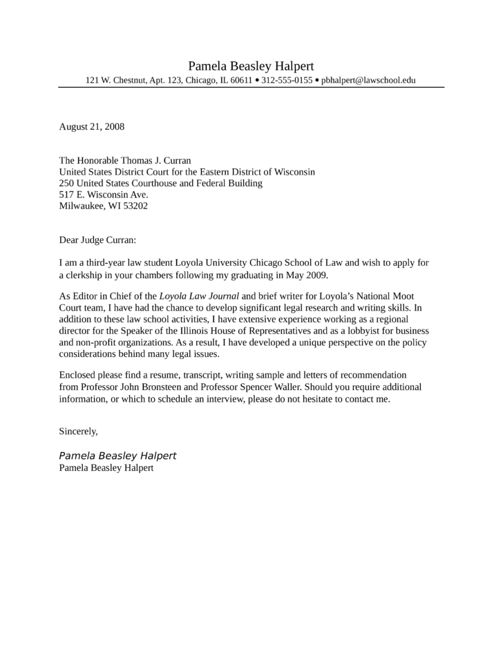 basic legal secretary cover letter - Legal Assistant Cover Letter Sample