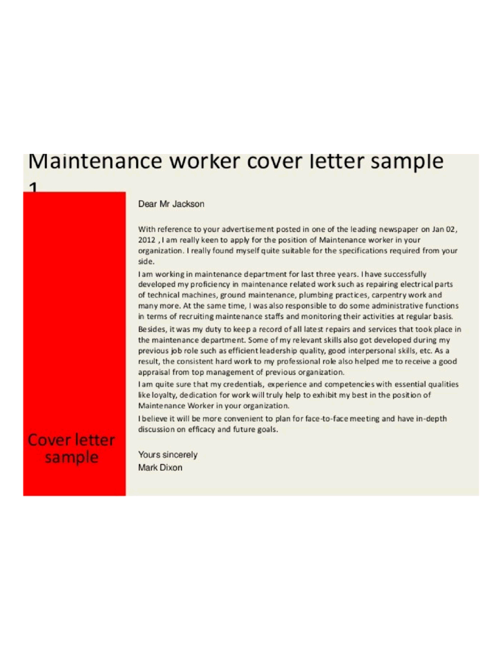 Cover letter sample building engineer