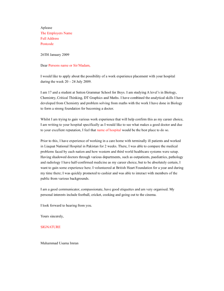 Entry Level Occupational Therapy Cover Letter Sample Barca