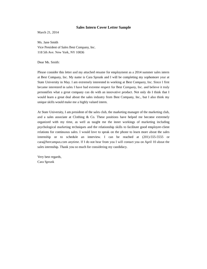 basic sales representative cover letter - Sales Representative Cover Letter Samples
