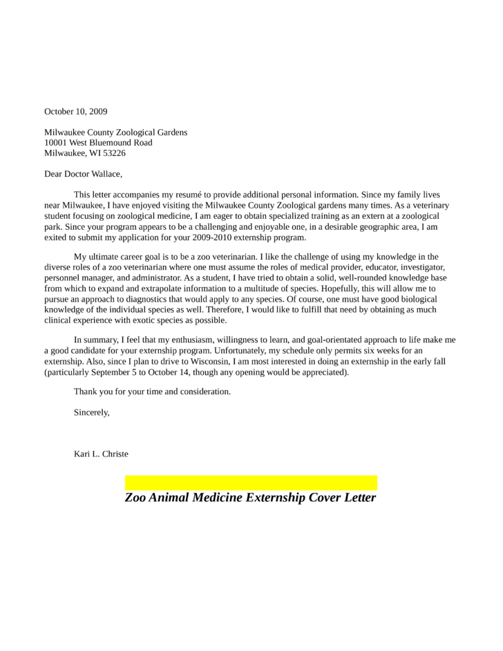 Examples Of Cover Letters For Student Nurses Letter Example